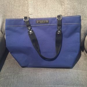 Blue Kenneth Cole Reaction Tote Bag Purse Medium
